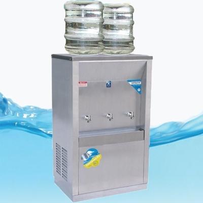 ตู้ทำน้ำเย็น 3ก๊อก แบบถังคว่ำ 2 ถัง รังผึ้ง รุ่นMC-3P_SP