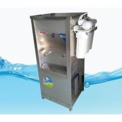 1.5 ตู้น้ำสแตนเลส 2 ก๊อก น้ำเย็น (ติดเครื่องกรอง)