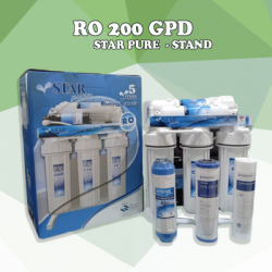 เครื่องกรองน้ำ STAR PURE STAND ระบบ RO 200 GPD